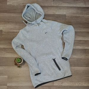 Nike knit fleece hoodie pull over, medium